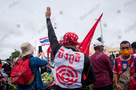 Editorial photo of Pro-democracy protest in Bangkok, Thailand - 20 Sept 2020