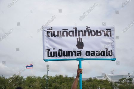 Editorial image of Pro-democracy protest in Bangkok, Thailand - 20 Sept 2020