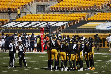 Editorial picture of Broncos Steelers Football, Pittsburgh, United States - 20 Sep 2020