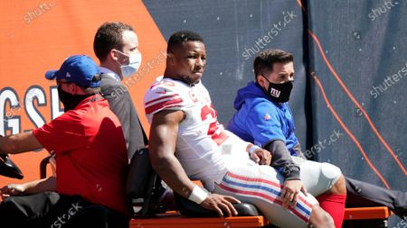 Editorial photo of Giants Bears Football, Chicago, United States - 20 Sep 2020