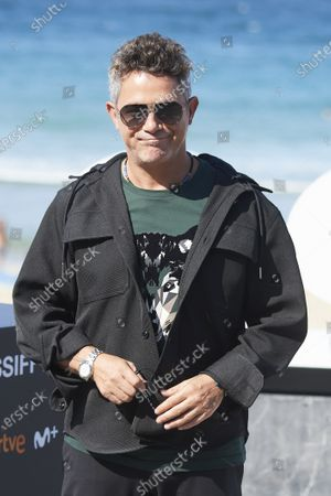Alejandro Sanz during 68th San Sebastian International Film Festival at Kursaal Palace on in Donostia, San Sebastian, Spain