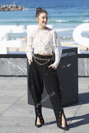 Maria Pedraza during 68th San Sebastian International Film Festival at Kursaal Palace on in Donostia, San Sebastian, Spain