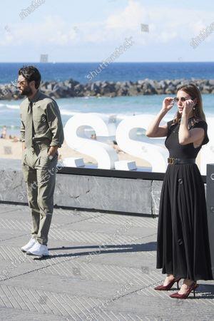 Blanca Suarez, Javier Rey during 68th San Sebastian International Film Festival at Kursaal Palace on in Donostia, San Sebastian, Spain