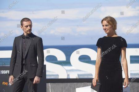 Laetitia Dosch, Sergei Polunin during 68th San Sebastian International Film Festival at Kursaal Palace on in Donostia, San Sebastian, Spain