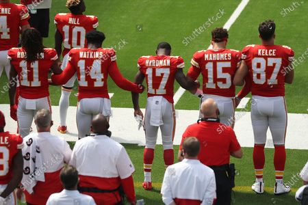 Editorial picture of Chiefs Chargers Football, Inglewood, United States - 20 Sep 2020