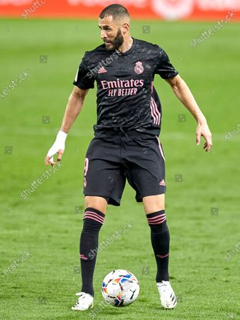 Karim Benzema of Real Madrid C.F
