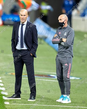 Coach Zinedine Zidane of Real Madrid C.F