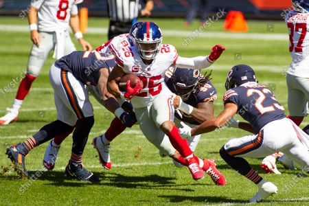 Editorial image of NFL Giants at Bears, Chicago, USA - 20 Sep 2020