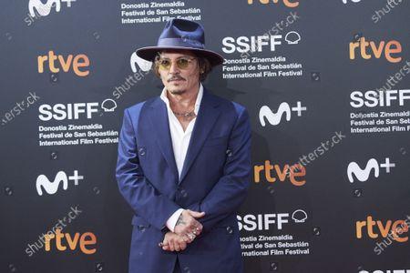Stock Image of Johnny Depp