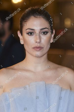 Blanca Suarez attended 'El verano que vivimos' Red Carpet during 68th San Sebastian International Film Festival at Victoria Eugeia Teather on September 20, 2020 in Donostia / San Sebastian, Spain