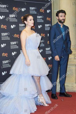 Editorial photo of 'El verano que vivimos' premiere, 68th San Sebastian International Film Festival, Spain - 20 Sep 2020