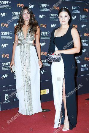 Stock Picture of Manuela Sanchez Michel and Rachel Valdes