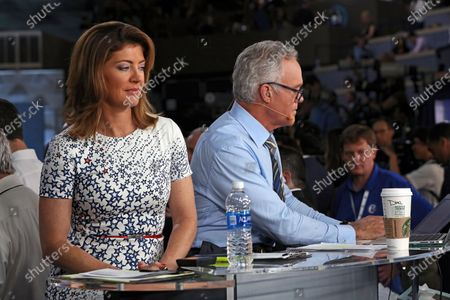 Norah O'Donnell and Scott Pelley
