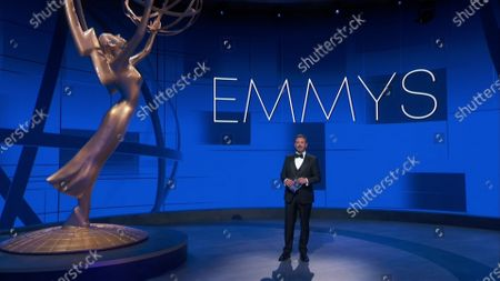 Jimmy Kimmel presents the Emmy for Outstanding Directing for a Limited Series, Movie or Dramatic Special during the 72nd Emmy Awards telecast on at 8:00 PM EDT/5:00 PM PDT on ABC