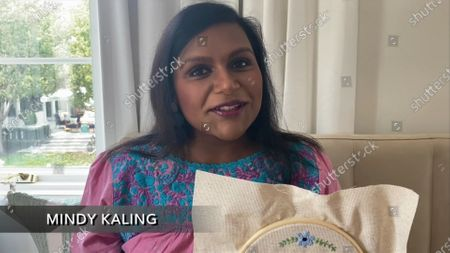 Mindy Kaling speaks during the 72nd Emmy Awards telecast on at 8:00 PM EDT/5:00 PM PDT on ABC