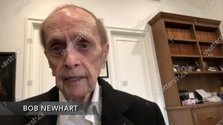 Stock Picture of Bob Newhart speaks during the 72nd Emmy Awards telecast on at 8:00 PM EDT/5:00 PM PDT on ABC