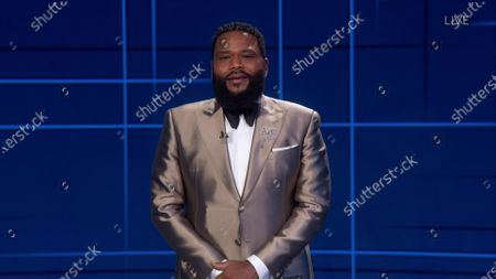 Anthony Anderson presents the Emmy for Outstanding Limited Series or Movie during the 72nd Emmy Awards telecast on at 8:00 PM EDT/5:00 PM PDT on ABC