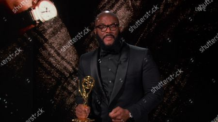 Tyler Perry accepts the Governors Award during the 72nd Emmy Awards telecast on at 8:00 PM EDT/5:00 PM PDT on ABC