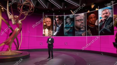 Jimmy Kimmel presents the Emmy for Outstanding Lead Actor in a Drama Series during the 72nd Emmy Awards telecast on at 8:00 PM EDT/5:00 PM PDT on ABC