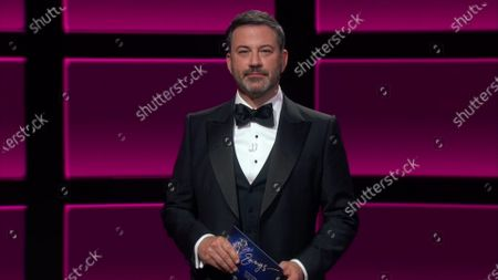 Jimmy Kimmel presents the Emmy for Outstanding Lead Actress in a Drama Series during the 72nd Emmy Awards telecast on at 8:00 PM EDT/5:00 PM PDT on ABC