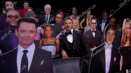 Editorial image of 72nd Emmy Awards - Show, Los Angeles, United States - 20 Sep 2020