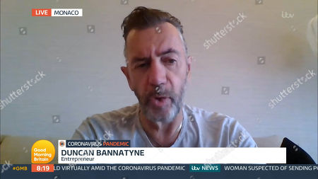 Stock Picture of Duncan Bannatyne