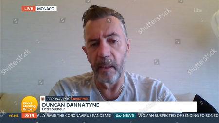 Stock Image of Duncan Bannatyne
