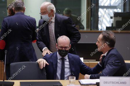 Editorial picture of EU Belarus, Brussels, Belgium - 21 Sep 2020