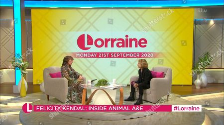 Lorraine Kelly and Felicity Kendal