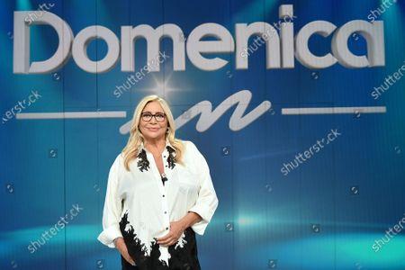TV host Mara Venier