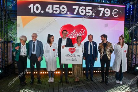 The fundraising operation for the benefit of scientific research against leukemia and cancer. This 2020 edition with Covid-19 rules brought in 10,546,650 euros. The sponsor of this edition was Agustin Galiana. Different personalities wished to support the cause. Thus the presence of Kendji Girac, Vincent Niclo, Salvatore Adamo, Typh Barrow, Fanny Leeb, Loic Nottet.