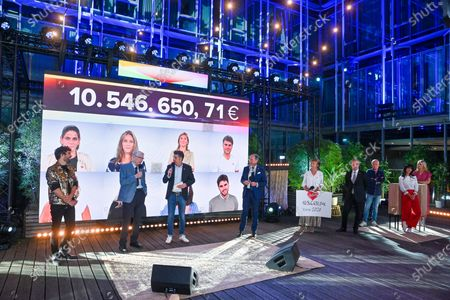 Editorial image of 32nd edition of Televie, Brussels, Belgium - 20 Sep 2020