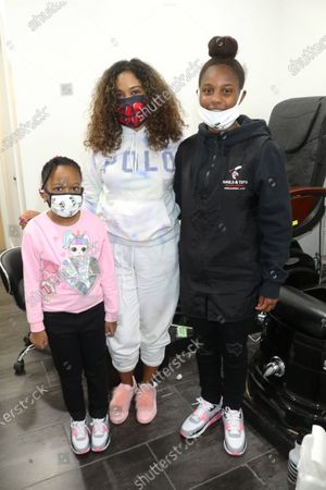 London Jones, Angela Yee and Laila Jones