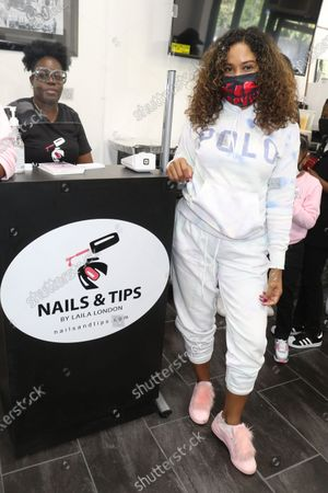 Editorial photo of Grand Opening Of Nail and Tips, Bronx, New York, USA - 19 Sep 2020