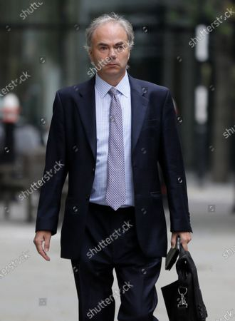 "Justin Rushbrooke QC who is representing Meghan, the Duchess of Sussex arrives at the High Court in London, . The next stage in the Duchess of Sussex's legal action against a British newspaper over its publication of a ""private and confidential"" letter to her estranged father is due to be heard at the High Court"