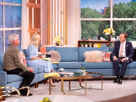 Phillip Schofield, Holly Willoughby, Matt Hancock,