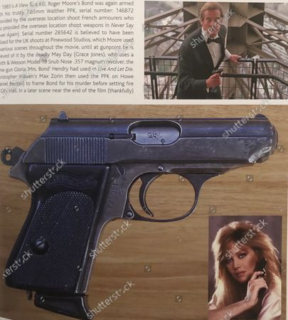 Roger Moore's Walther PPK from 'A View To A Kill'