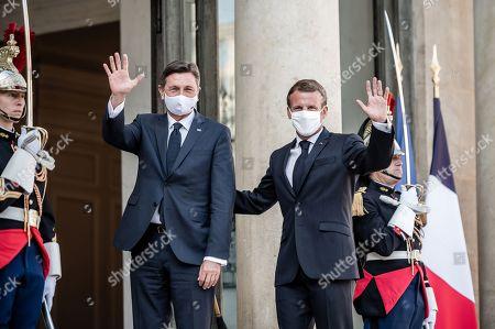 President of Slovenia Borut Pahor visit to Paris