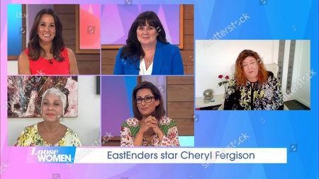 Andrea McLean, Coleen Nolan, Denise Welch, Saira Khan and Cheryl Fergison