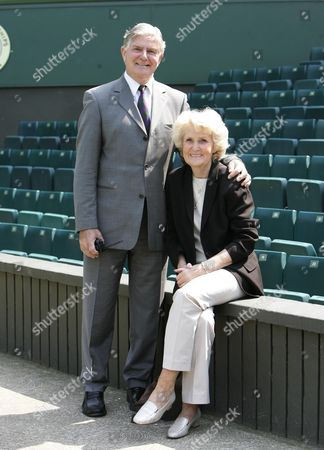 Alan Mills With Wife Jill - Wimbledon Referee. As Wimbledon Referee Alan Mills Has Had To Defuse Some Furious Rows And A Row Was Never Far Away If John Mcenroe Was On Court ....