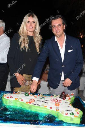 Tiziana Rocca, Michel Curatolo