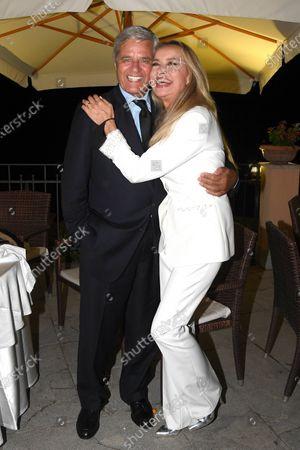 Stock Picture of Jean Sorel, Gloria Guida