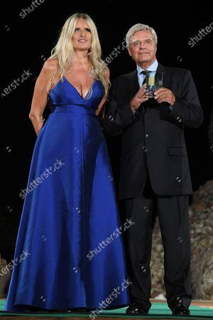 Tiziana Rocca and Jean Sorel