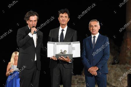 Giulio Base, Michel Curatolo and Giuseppe Chemi