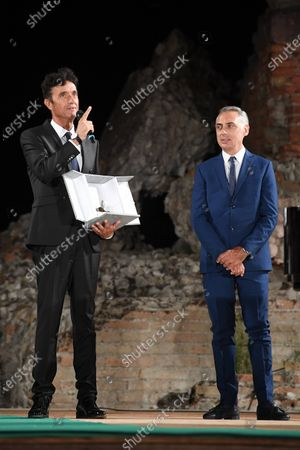 Editorial image of Prize of Nations 2020, Ancient Theater, Taormina, Sicily, Italy - 19 Sep 2020