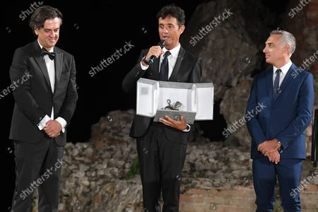 Stock Photo of Giulio Base, Michel Curatolo and Giuseppe Chemi