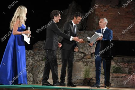 Editorial picture of Prize of Nations 2020, Ancient Theater, Taormina, Sicily, Italy - 19 Sep 2020