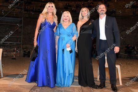 Stock Picture of Tiziana Rocca, Sandra Milo, Eleonora Pedron, Fabio Troiano