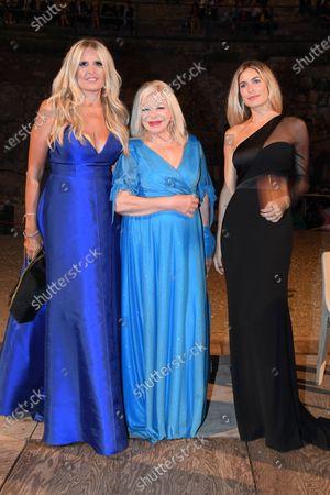 Stock Image of Tiziana Rocca, Sandra Milo, Eleonora Pedron
