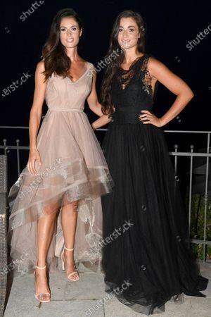 Daniela Ferolla and sister Miriam